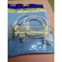 Cable 3 Rca Con Conector Ipod 1.20 Metros Dxr081760
