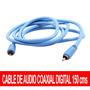 Cable Coaxial Digital De Audio 150 Cms Maxima Calidad