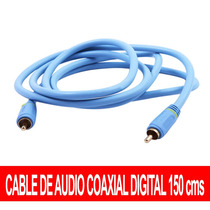 Cable Coaxial Digital De Audio 150 Cms Maxima Calidad