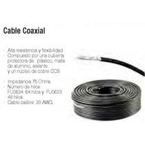 Cable Coaxial Fulgore Rg-6 Rollo 100 M Argos