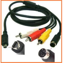 Cable Audio Video Vmc-15fs P/ Video Camaras Sony Dcr-dvd805