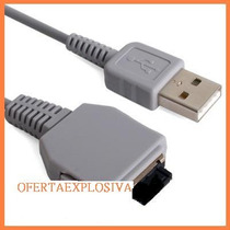 Cable Usb P/transferir Datos P/camaras Sony Dsc-w200 W300