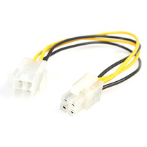 Cable 0.2m Extensor Atx 12v 4 Pines Alimentacion Macho A Hem