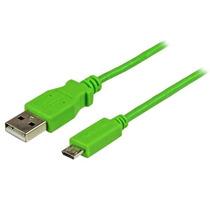 Startech.com Cable Slim Micro Usb B Usb A 1 Metro Verde