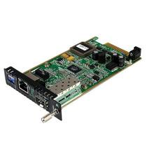 Módulo Convertidor De Medios Gigabit Ethernet Utp Rj45 A Fib