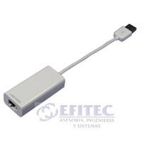 Efi-acccausbet Adaptador Usb 2.0a Ethernet 10/100mbps Efitec