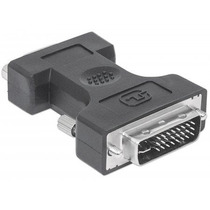 Adaptador Dvi A&d 29m Hd15h Negro Manhattan 328883
