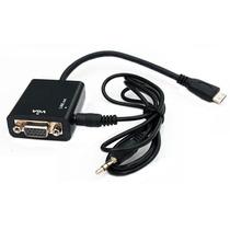 Convertidor Adaptador Hdmi A Vga Con Salida De Audio 3.5mm