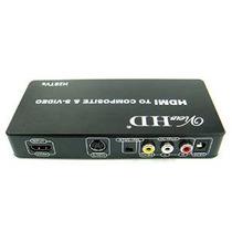 Viewhd Hdmi A La Tv Compuesto Rca Av + S Video Converter | I