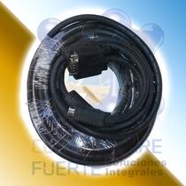 Cable Vga 15 Metros Monitor Proyector Pantalla Comtf