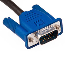 Cable Vga A Vga 3 Metros Conectores Macho-macho Pc Laptop