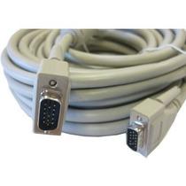 Cable Vga A Vga 10 Metros Conectores Macho-macho Proyector