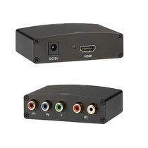 Convertidor De Video Hdmi A Componente Con Salida De Audio