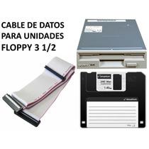 Cable De Datos Para Floppy 3 1/2