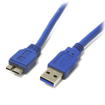 Cable 30cm Usb 3.0 Super Speed Ss Usb A Macho A Micro Usb B