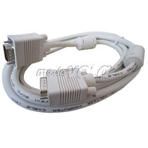 Cable Extension Vga Db15 Vga Macho A Macho Monitor 3 Metros