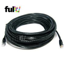 20 Metros Cable Utp Cat5e De Red Exterior Con Conetores Rj45