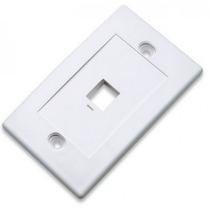 Tapa Blanca 1 Salida Intellinet 163286 Caja De Pared +c+