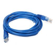 Cable De Red Cat 5 Ponchado Y Vulcanizado 1.8 Metros Nuevo