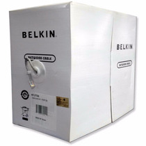 Belkin Bobina Cable Red Utp Cat 6 305 Mts A7j704-1000 Gris