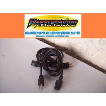 Cable Corriente Ac Para Pc Etc Con Tierra Fisica 1.8m Idd
