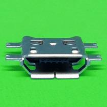 Bolsa Con 5 Conectores Micro Usb 5 Pin Tipo B Patas Largas