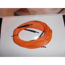 Fibra Optica 10m St/st Duplex 62.5/125um Cable Color Naranja