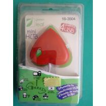 Mini Hub 4puertos Usb Corazón