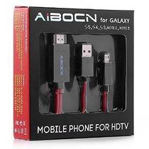 Aibocn 6.5 Pies 11 Pin Micro Usb Al Adaptador De Hdmi Cable