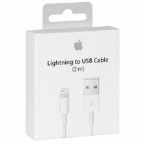 Envío Gratis Cable Original Lightning 2m Apple Iphone 5 Y 6.
