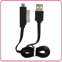 Cable Plano Usb A I4 Y Micro Usb - Transferencia / Cargador