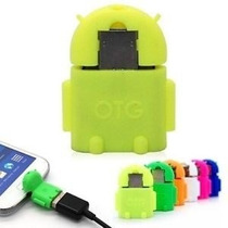 Adaptador Otg Android Robot Usb Teclado Mouse Mini