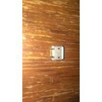 Conector Micro Usb Hembra Pines Largos 5 Piezas