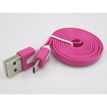 Cable Micro Usb Para Samsung Galaxy S2 S3 S4 Htc Huawei Rosa