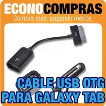 Cable Adaptador Usb Otg Para Galaxy Tab P7510 100% Nuevo!!!!