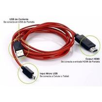 Cable Hdmi Mhl Galaxy Tab 3, Galaxy Note 2, 3, 10.1, N9000