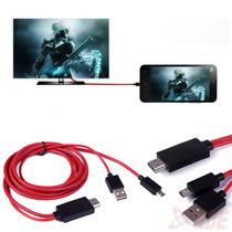 Cable Hdmi Adaptador Mhl Hdtv Samsung Galaxy