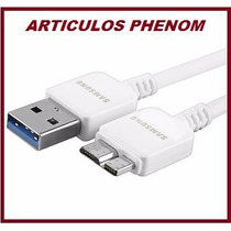 Cable Datos Usb 3.0 Samsung Discos Duros, Note 3, Galaxy S5