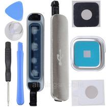 Samsung Galaxy S5 Puerto Usb Tapa Cubierta +lente Camara+her