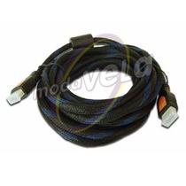 Cable Hdmi 10 Metros Full Hd 1080p, 1080i