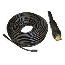 Cable Hdmi Para Alta Definicion Chapa De Oro 30 Metros