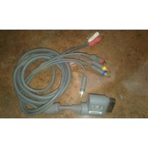 Cable P/xbox 360 Av Y Hdtv 100% Original,perfecto Estado