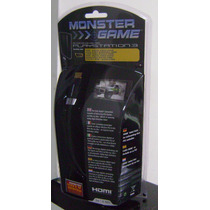 Monster Hdmi Cable Digital Audio / Video 1080p Ps3-4 2mt