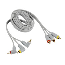 Cable Tipo Rca Para Audio Y Video 1.82 Mts Xscorpion Av6