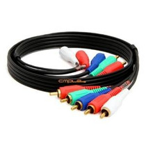 Cmple - Component Video Cable Audio 5-rca Oro Hdtv Rgb Ypbpr