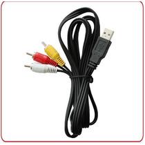 Cable Usb A 3 Rca Macho-macho Libre De Oxigeno 1.80 Mts