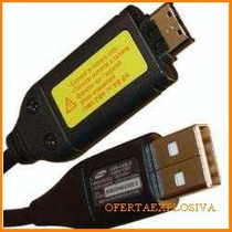 Cable Usb Original Samsung Para Camara Digital L210 L301