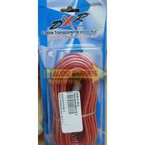 Cable Rca Transparente 6 Metros Dxr 080129