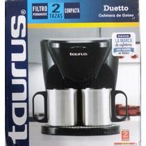 Cafetera De Goteo Para 2 Tazas (duetto) Taurus