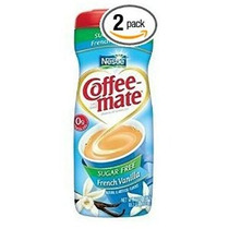 Coffee Mate French Vanilla Sugar Free Coffee Creamer, 10.2 O